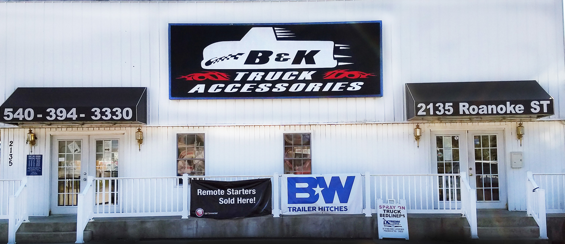 B&K Truck Accessories Christiansburg, VA near Blacksburg, VA Virginia Tech